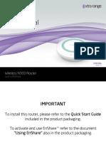 ESR300 Manual