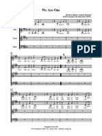 We Are One SATB.pdf