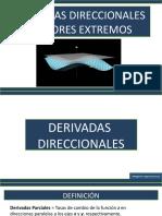08 Derivadas Direccionales y Valores Extremos