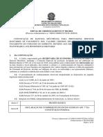 Edital Credenciamento Bancos 2016