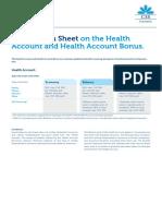 Merkblatt Gesundheitskonto