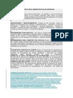 Bibliografía de libros para administradores de empresas