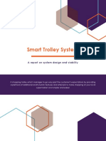 Report on Smart Trolley System
