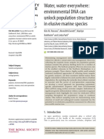 Parsons Et Al 2018 - EDNA for Study of Marine Mammals