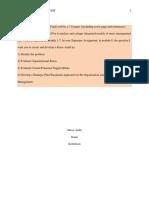 Organizational stress audit