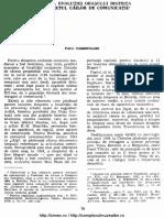 Dinamica evolutiei orasului Bistrita in contextul cailor de comunicatie