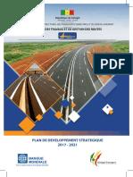 Plan Strategique de Developpement 2017 - 2021 Ageroute -Senegal.compress...