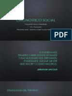 DIAGNÓSTICO SOCIAL