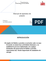 APARATOS DE PRESION