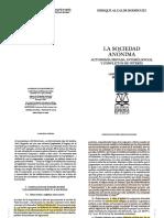 Alcalde Rodriguez, Enrique. La Sociedad Anónima. Autonomía Privada, Interés Social y Conflictos de Interés.