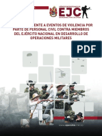 Protocolo Eventos de Violencia de Cilives a Militares Whatsapp