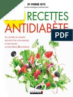 Recettes antidiabete