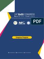 BaSS 2019 Final Program
