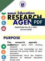 1.2 DepEd Research Agenda