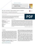 Life Cycle Assessment of Algae Biodiesel and Its Co Produ 2016 Applied Energ