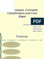Classification of Cost (1)