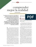 Para comprender mejor la realidad  de Fernando Hernández