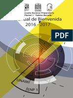 Escuela Nacional Gabino Barrera - Manual de Bienvenida 2016 - 2017