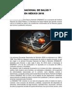 Encuesta Nacional de Salud y Nutrición en México