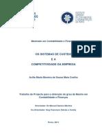 Os Sistemas de Custeio e a Competitividade Da Empresa