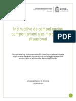 Instructivo Componente Situacional Prueba Competencias Comportamentales
