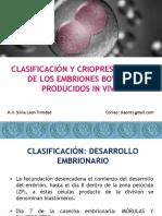 clasificación de crioconservacion