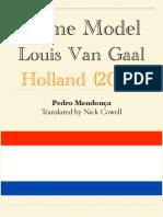 Louis Van Gaal - Game Model