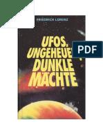 Friedrich Lorenz - Ufos, Ungeheuer Dunkle Maechte