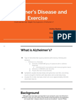alzheimers disease and exercise