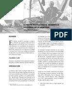 La nueva maloca para el desarrollo sostenible en la Amazonia