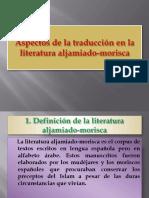 Aspectos de La Taducción en La Literatura Aljamiado-morisca