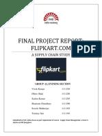 136499193 Flipkart SCM Report Group 12 (1)