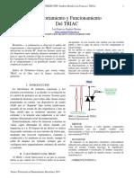 Informe Comportamiento Del TRIAC