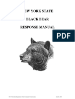 NEW YORK STATE BLACK BEAR RESPONSE MANUAL