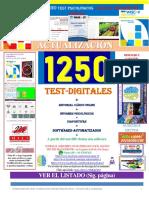 1250 Test + Escala Wechsler