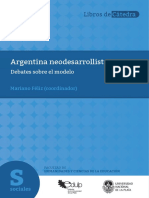 Argentina neodesarrollista