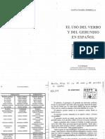 El uso del verbo y del gerundio en español