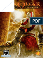 God of War Chains of Olympus - Manual - PSP