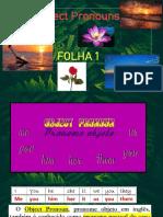 Object Pronouns- slide de treino- folha 1
