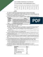 Práctica 3 de Economia y Gestion Contabilidad
