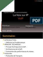 Exposé VoIP-Réseaux Communication