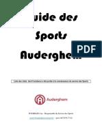 Guide Des Sports 2018