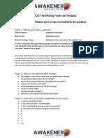 Checklist Dos Primeiros Passos Aula 2