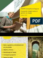 Evaluación Independiente de Gestión de Riesgos - ACERTA SEGUROS