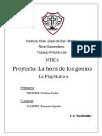 Proyecto La Hora de Los Genios - Ezequiel Alvarez
