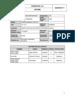 Informe Reparacion Fuga de Aceite TX 10 11