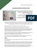 Natalia Arispe, Fiorella Navatta - La formación artistica en la educación inicial