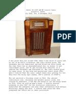 Restoration of My Philco Model 46-1209 Console Radio