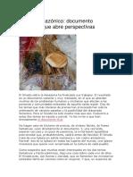 Sínodo Amazónico Documento Matizado Que Abre Perspectivas