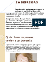 o Que é a Depressão - Power - Point